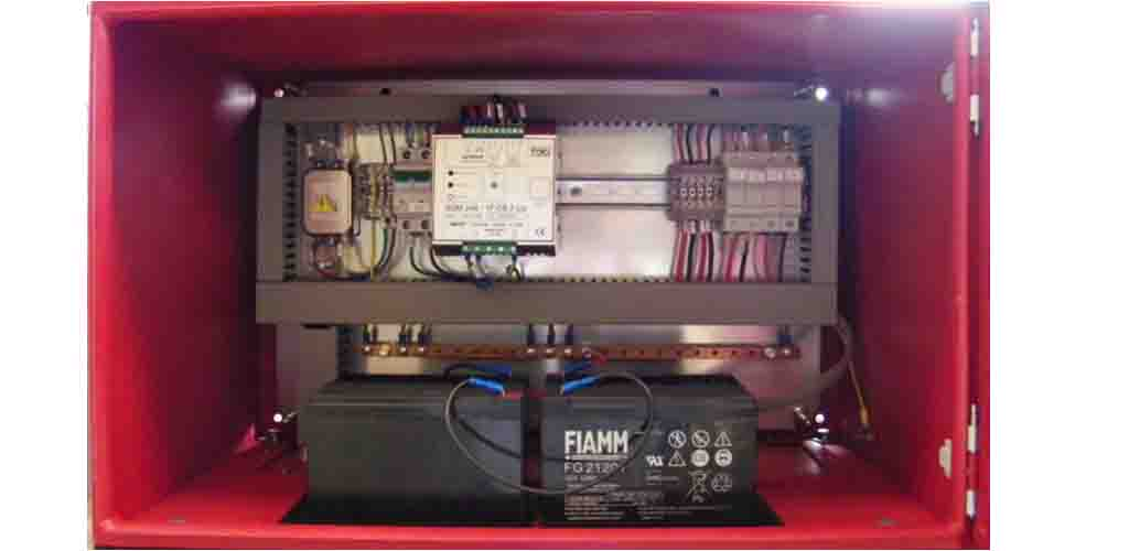 realizations Control Panel and Power Supply.