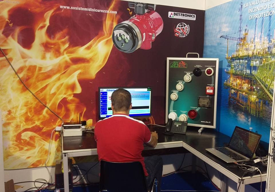 teleservice fire and gas Software for graphic maps