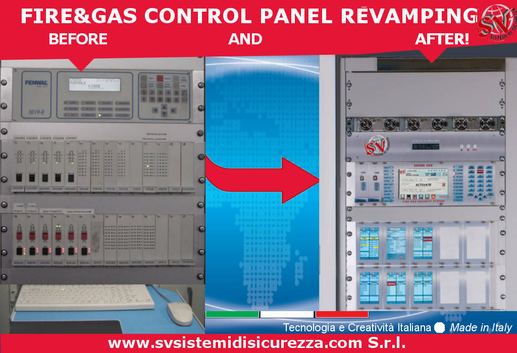 Fire Gas Control Panel Revamping